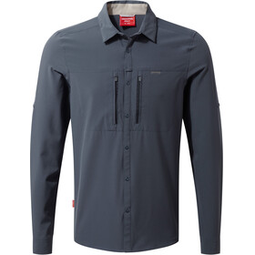 Craghoppers NosiLife Pro III Long Sleeved Shirt Men Ombre Blue